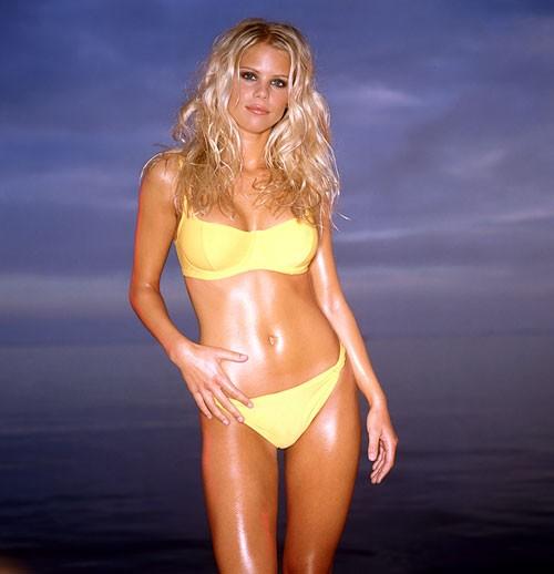 Elin Nordegren in Yellow Bikini