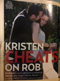 Kristen Stewart Caught Cheating