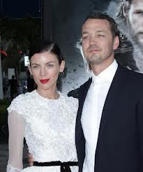Rubert Sanders with Wife