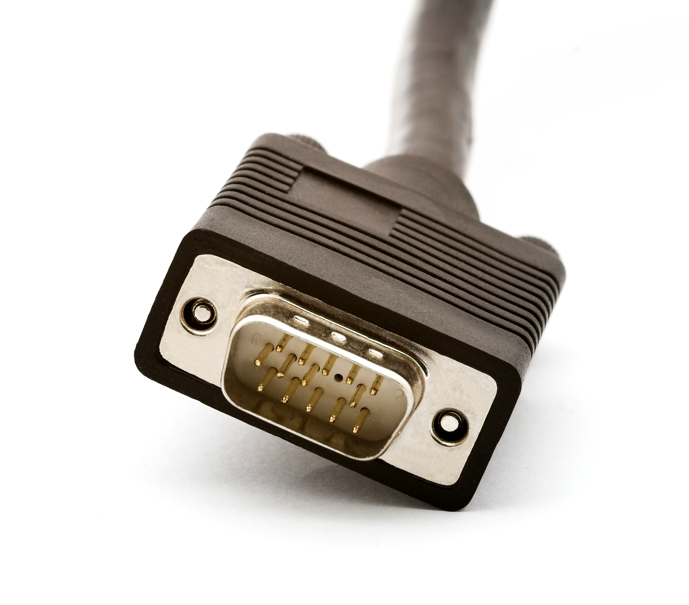 hook up your pc to your tv using a vga cord