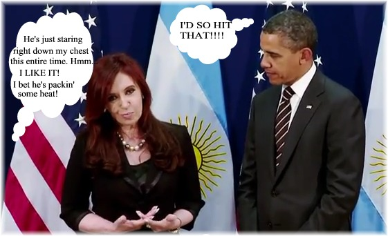 President Obama's Bilateral Meeting with President Cristina Kirchner of Argentina