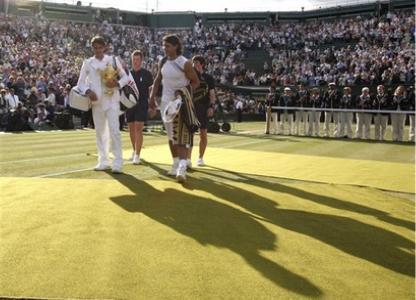 Roger Federer Rafael Nadal Wimbledon Mens Final