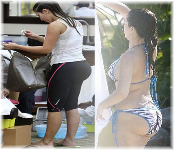 Kim Kardashian Pregnant Photo 1