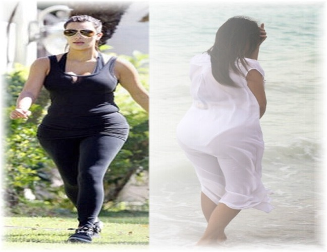 Kim Kardashian Pregnant Photo 2