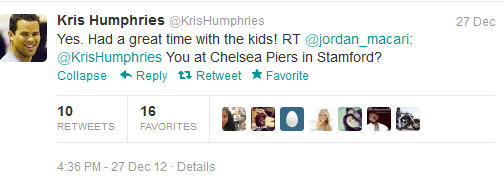 Kris Humphries Does Not Tweet About Kim's Pregnancy