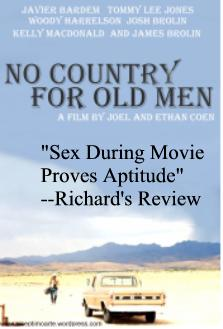 Review of the the movie No Country For Old Men