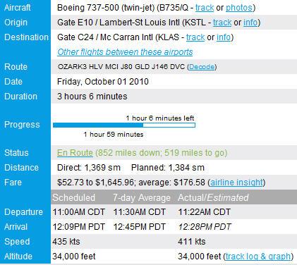 online flight tracking information