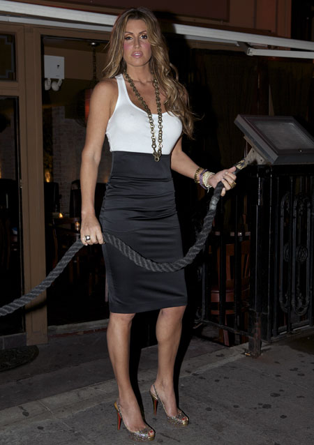 Rachel Uchitel Tiger's Girlfriend