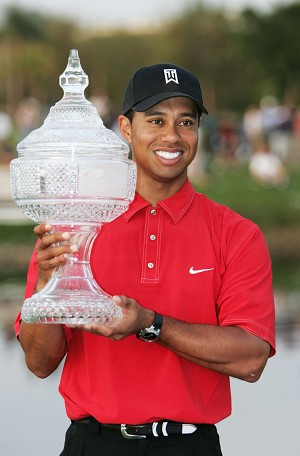 Tiger Woods in U.S. Open Playoff