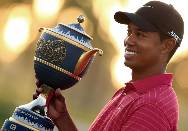 tiger woods return to golf