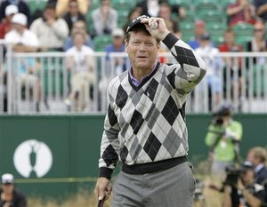 will Tom Watson win the british open at Turnberry