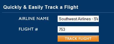 track a flight online