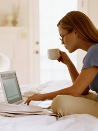 working moms from home take online surveys for cash
