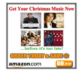 Buy Christmas Music.