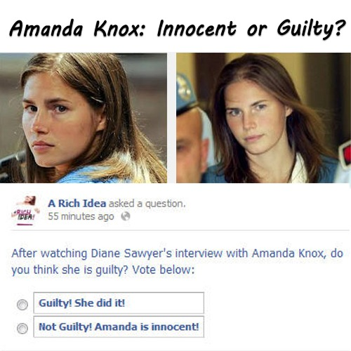 is amanda knox innocent