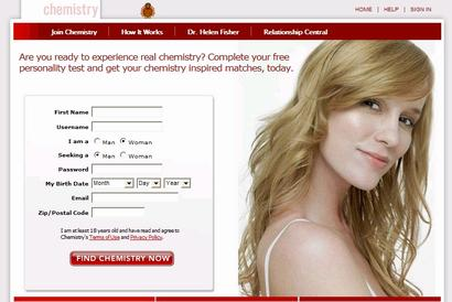 Chemistry.com has a formula for online dating