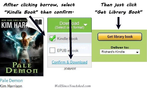 Get Kindle Library Book