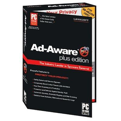 Best Rated Spyware:  AdAware Rated #3