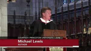 Michael Lewis Princeton Speech