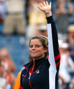 Kim Clijsters Out of U.S. Open
