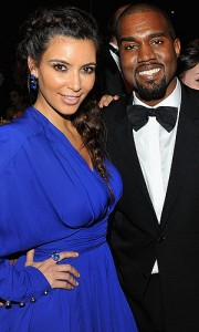 Kim and Kanye:  The New Parents