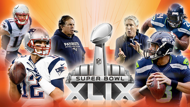 superbowl 49 patriots win seahawks lose