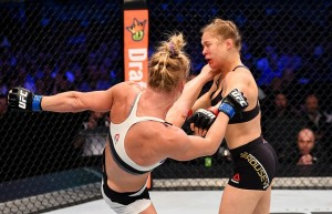 ronda rousey loses fight