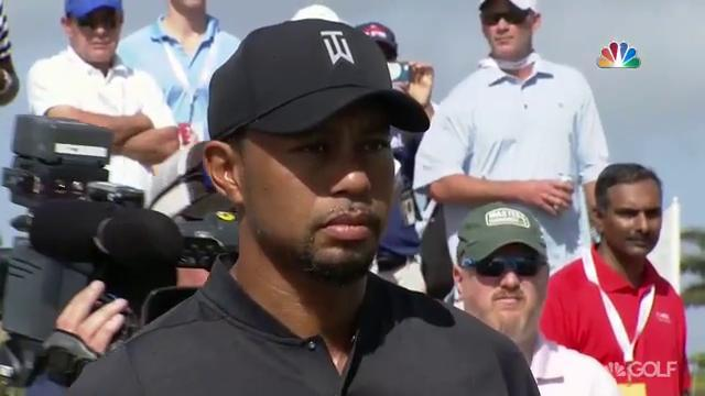 Tiger Returns to Golf