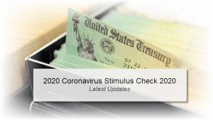2020 Stimulus Check