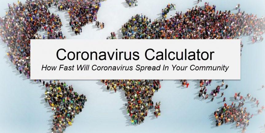 Coronavirus Spread Calculator