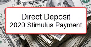 direct deposit stimulus checks